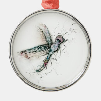Flight Of The Dragonfly Christmas Ornament