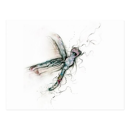 Flight Of The Dragonfly Postcard