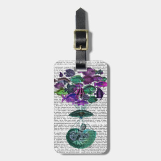 Flight Of The Fish Hot Air Balloon Luggage Tag