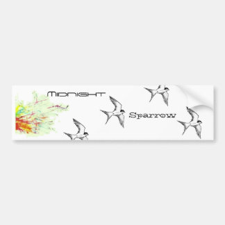 Flight Of The Sparrows Bumper Sticker