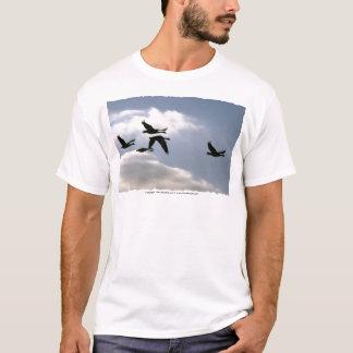 Flight of the Wild Goose   T-shirt   customise wit
