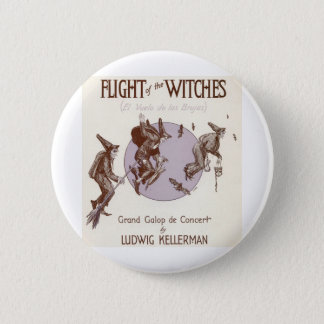 Flight of the Witches 6 Cm Round Badge