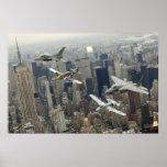 Flight over New York