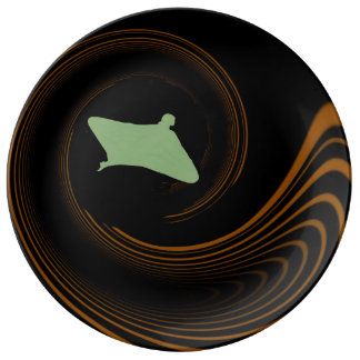Flight Porcelain Plate
