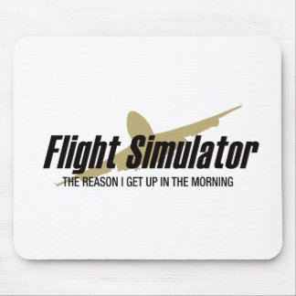 Flight Simulator Reason I get Up Mouse Mat