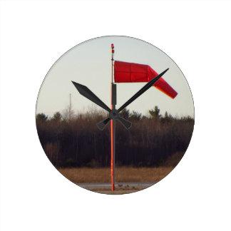 Flight Time Windsock clock