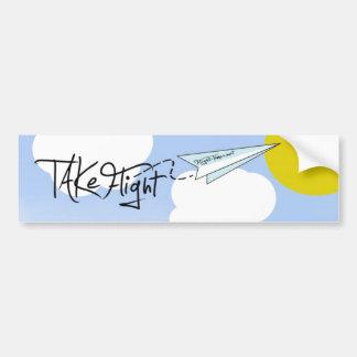 Flight-Times.net sticker Car Bumper Sticker