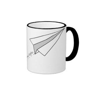 Flight to Adventure Ringer Mug