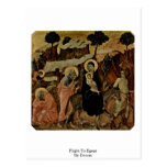 Flight To Egypt By Duccio Postcards