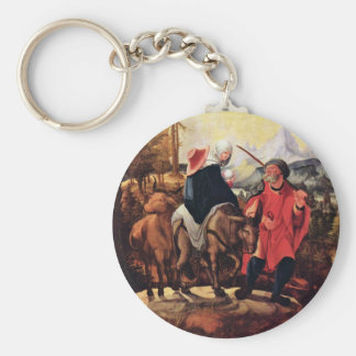 Flight To Egypt By Huber Wolf (Best Quality) Key Chain