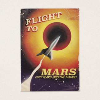 Flight To Mars! vintage sci-fi poster