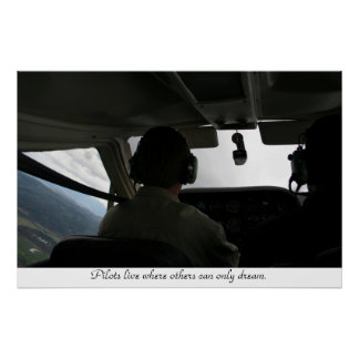 Flight Training Poster