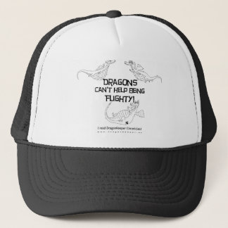 Flighty dragons trucker hat