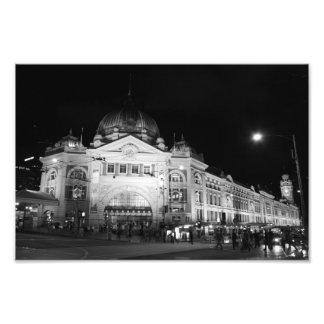Flinders Station, Melbourne - 12 x 8 Print Photo Print