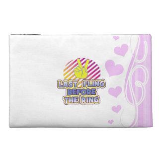 fling ring peace bachelorette wedding bridal travel accessories bag