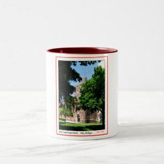 Flint Central High Two-Tone Coffee Mug