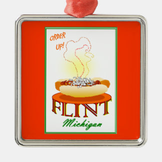 FLINT CONEY island ornament