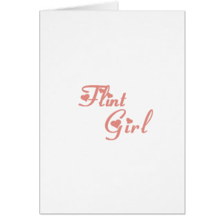 Flint Girl tee shirts Cards