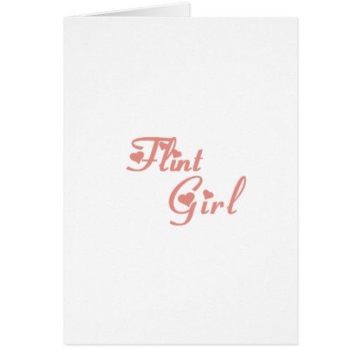 Flint Girl tee shirts Cards