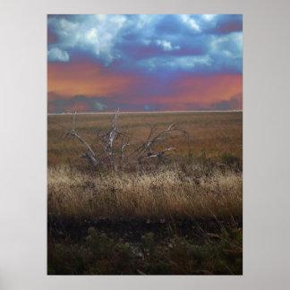 Flint Hills of Kansas poster