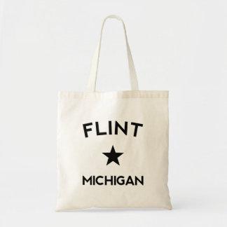 Flint Michigan Budget Tote Bag