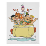 Flintstones Family Roadtrip Poster