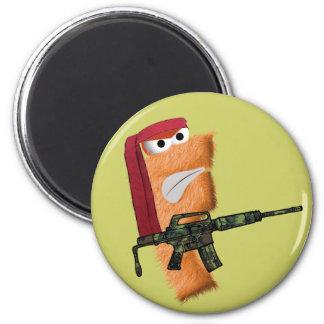 Flip-bo Magnet! 6 Cm Round Magnet