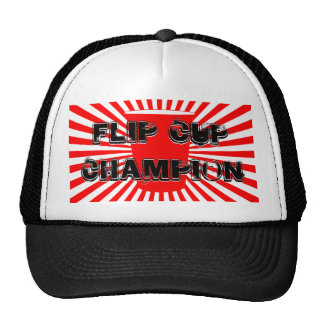 flip cup champion cap