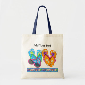 Flip Flop Beach Bag - Tote - SRF