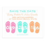 Flip Flop Beach Wedding Save the Date