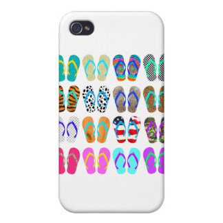 Flip-Flop Chart iPhone 4 Cover