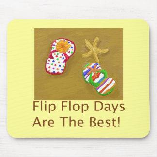 Flip Flop Days Mouse Mat