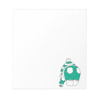 Flip Flop Multies rock my world Notepad