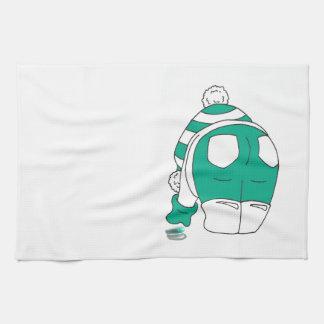 Flip Flop Multies rock my world Tea Towel