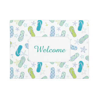 Flip Flop Pattern | Add Your Text Doormat