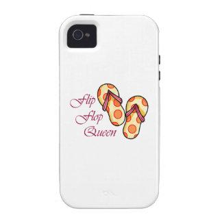 Flip Flop Queen Vibe iPhone 4 Cases