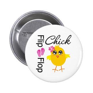 Flip-Flop Sandals Chick Buttons