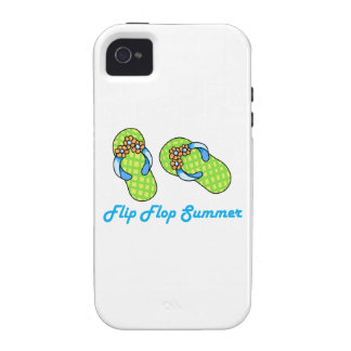 Flip Flop Summer Vibe iPhone 4 Cases