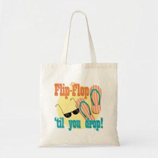 Flip Flop til You Drop Canvas Bag