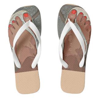"""""""Flip Flop"""" Women's Flip Flops"""