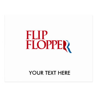 Flip Flopper Postcard