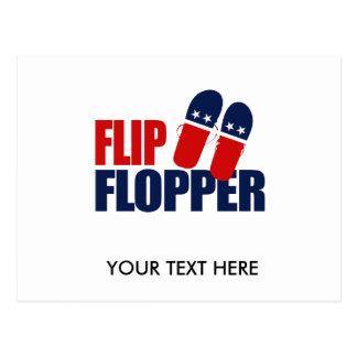 Flip Flopper Romney Post Cards