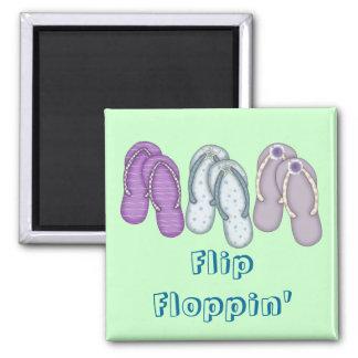 Flip Floppin' Magnet