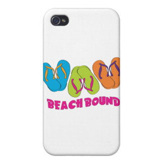 Flip Flops Beach Bound Cases For iPhone 4