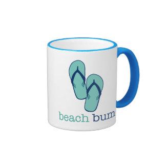 Flip Flops Beach Bum Coffee Mugs