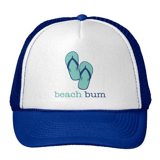 Flip Flops Beach Bum Trucker Hat
