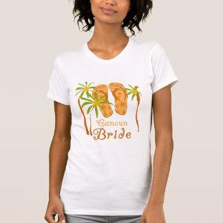 Flip Flops Cancun Bride T-Shirt