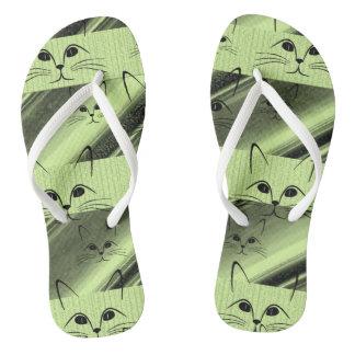 Flip Flops Cat