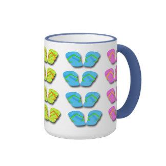 Flip Flops Coffee Mugs