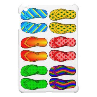 Flip flops colorful ipad mini case